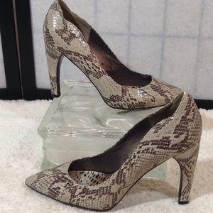 Sam Edelman snakeskin pumps